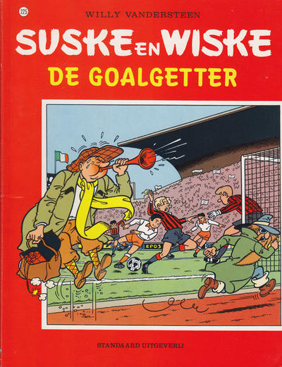 Cover for Suske en Wiske (Standaard Uitgeverij, 1967 series) #225 - De goalgetter