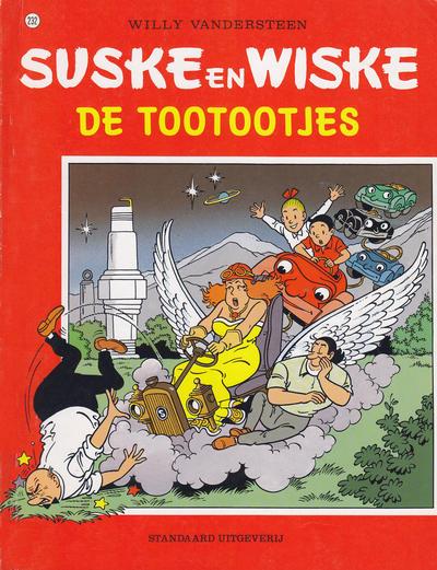 Cover for Suske en Wiske (Standaard Uitgeverij, 1967 series) #232 - De tootootjes