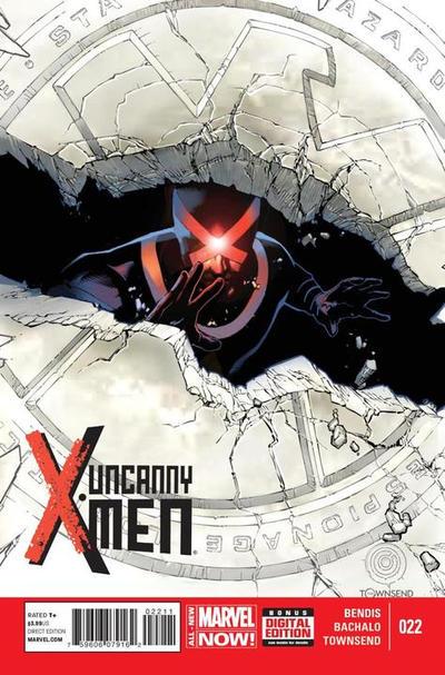 Cover for Uncanny X-Men (Marvel, 2013 series) #22