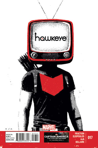 Cover for Hawkeye (Marvel, 2012 series) #17