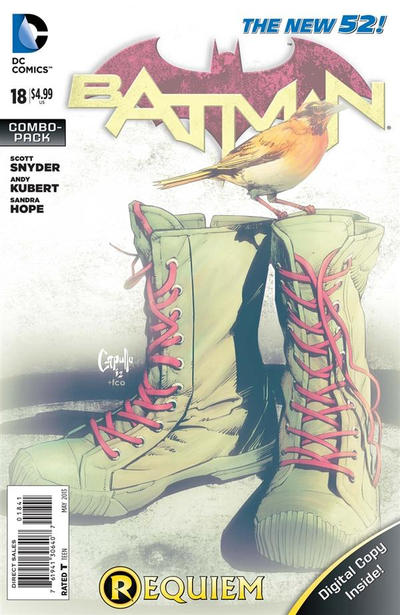 Cover for Batman (DC, 2011 series) #18 [Direct Sales]