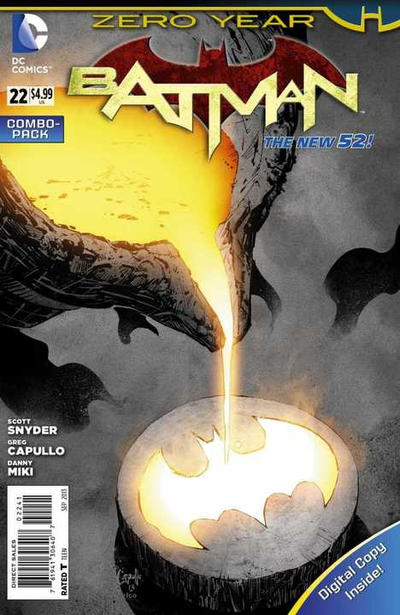 Cover for Batman (DC, 2011 series) #22 [Mikel Janin Cover]