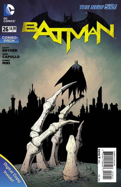 Cover for Batman (DC, 2011 series) #26 [Combo-Pack]