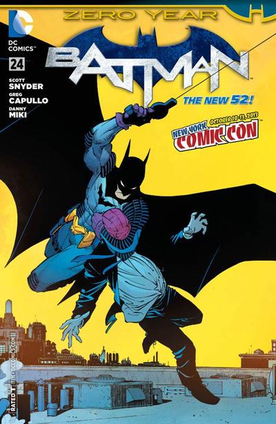 Cover for Batman (DC, 2011 series) #24 [New York Comic Con Cover]