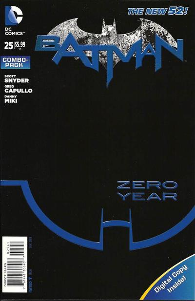 Cover for Batman (DC, 2011 series) #25