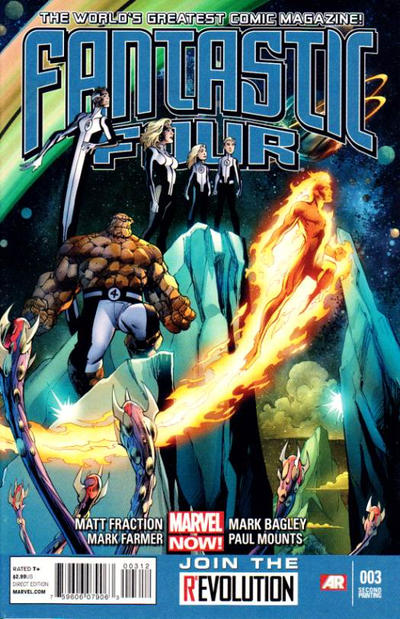 Cover for Fantastic Four (Marvel, 2013 series) #3