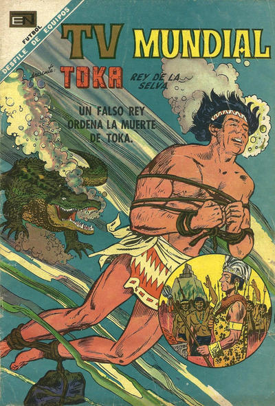 Cover for TV Mundial (Editorial Novaro, 1962 series) #136