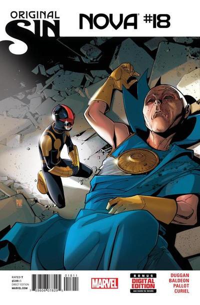 Cover for Nova (Marvel, 2013 series) #18