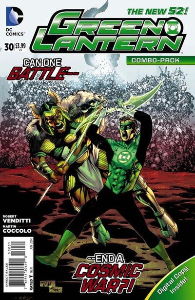 Cover for Green Lantern (DC, 2011 series) #30