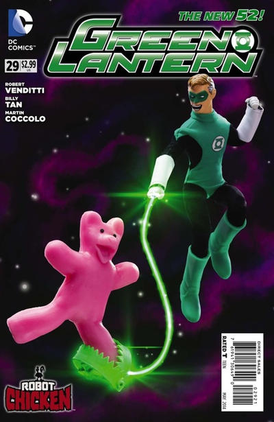 Cover for Green Lantern (DC, 2011 series) #29