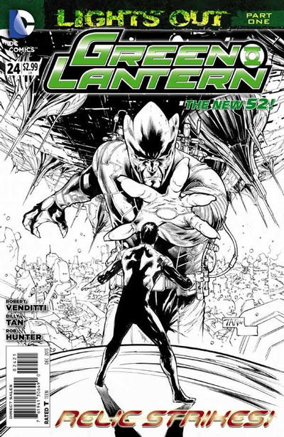 Cover for Green Lantern (DC, 2011 series) #24