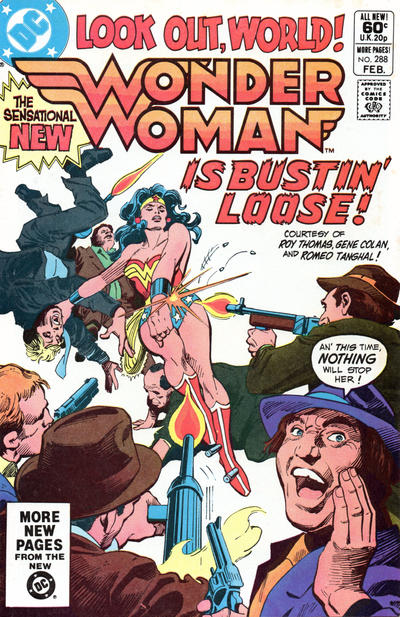 Cover for Wonder Woman (DC, 1942 series) #288 [Direct Sales Variant]