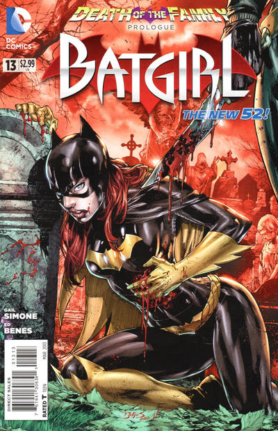 Cover for Batgirl (DC, 2011 series) #13