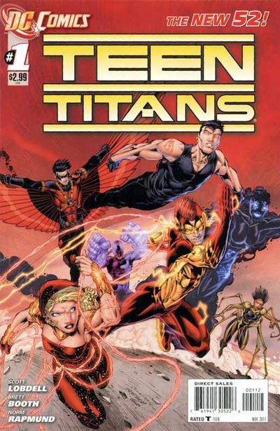 Cover for Teen Titans (DC, 2011 series) #1