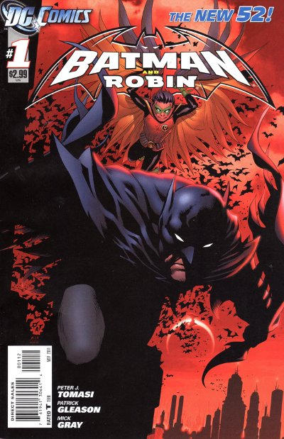Cover for Batman and Robin (DC, 2011 series) #1