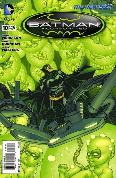 Cover for Batman Incorporated (DC, 2012 series) #10 [Jason Masters Variant Cover]