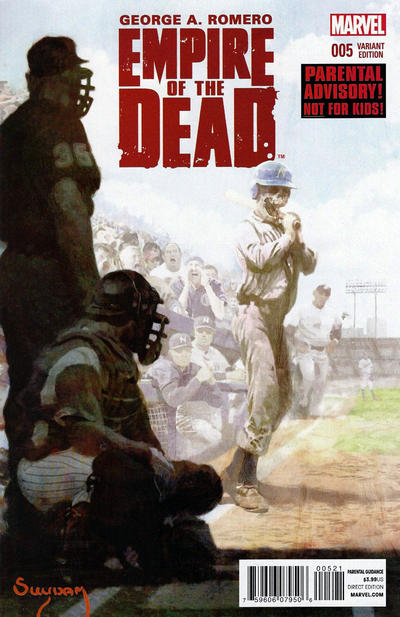 Cover for George Romero's Empire of the Dead (Marvel, 2014 series) #5 [Arthur Suydam NYC Variant]