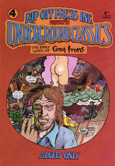 Cover for Underground Classics (Rip Off Press, 1985 series) #4