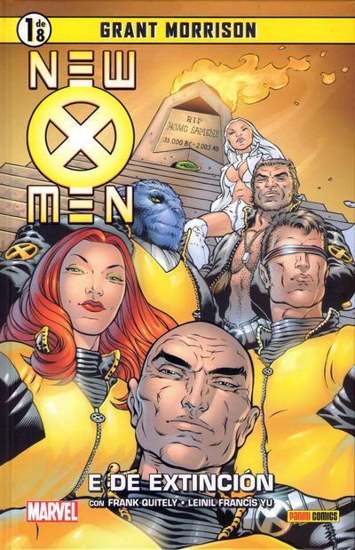 Cover for Coleccionable New X-Men (Panini España, 2014 series) #1 - E de Extinción