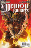 Cover for Demon Knights (DC, 2011 series) #1 [2nd Printing - Red Background]