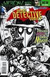 Cover for Detective Comics (DC, 2011 series) #17 [Jason Fabok Black & White Cover]