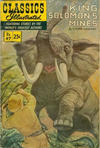 Cover for Classics Illustrated (Gilberton, 1947 series) #97 [HRN169] - King Solomon's Mines [25 cent cover]