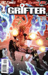 Cover for Grifter (DC, 2011 series) #1 [2nd Printing - Red Background]