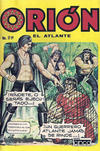 Cover for Orion El Atlante (Editora Cinco, 1974 series) #29
