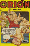 Cover for Orion El Atlante (Editora Cinco, 1974 series) #17