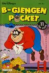 Cover for B-Gjengen pocket (Hjemmet / Egmont, 1986 series) #11