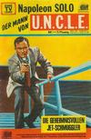 Cover for Napoleon Solo - Der Mann von U.N.C.L.E. (Semic, 1967 series) #1
