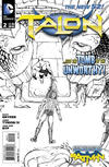 Cover Thumbnail for Talon (2012 series) #2 [Guillem March Black and White Cover]