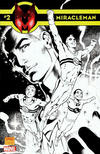 Cover Thumbnail for Miracleman (2014 series) #2 [Alan Davis black & white variant]