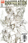 Cover for Annihilation Prologue (Marvel, 2006 series) #1 [Retailer Sketch Variant]