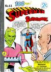 Cover for Superman Supacomic (K. G. Murray, 1959 series) #63