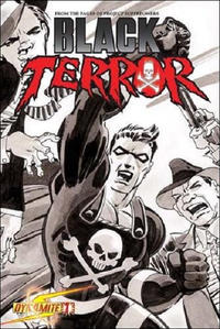 Cover Thumbnail for Black Terror (Dynamite Entertainment, 2008 series) #1 [Tim Sale Cover]