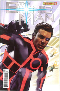 Cover Thumbnail for Bionic Man (Dynamite Entertainment, 2011 series) #17 [Cover A - Mike Mayhew]