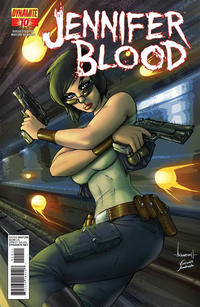 Cover Thumbnail for Jennifer Blood (Dynamite Entertainment, 2011 series) #10 [Ale Garza Variant ]