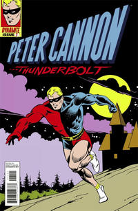 "Cover Thumbnail for Peter Cannon: Thunderbolt (Dynamite Entertainment, 2012 series) #1 [""Classic Retro"" Retailer Incentive Cover - Dave Gibbons]"