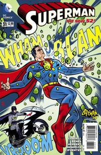 Cover Thumbnail for Superman (DC, 2011 series) #31 [Batman '66 Cover]