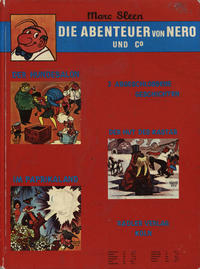 Cover Thumbnail for Die Abenteuer von Nero und Co (Rädler, 1972 series) #[nn]
