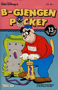 Cover Thumbnail for B-Gjengen pocket (Hjemmet / Egmont, 1986 series) #13