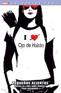 Cover Thumbnail for 100% Marvel. Ojo de Halcón (Panini España, 2013 series) #2 - Pequeños Aciertos