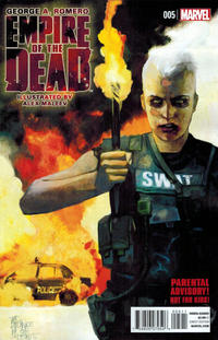 Cover Thumbnail for George Romero's Empire of the Dead (Marvel, 2014 series) #5 [Alex Maleev Cover]
