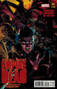 Cover Thumbnail for George Romero's Empire of the Dead (Marvel, 2014 series) #2 [Retailer Incentive Variant by Greg Horn]