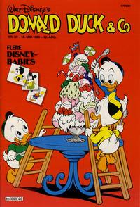 Cover Thumbnail for Donald Duck & Co (Hjemmet / Egmont, 1948 series) #20/1989