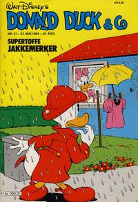 Cover Thumbnail for Donald Duck & Co (Hjemmet / Egmont, 1948 series) #21/1989