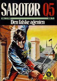 Cover Thumbnail for Sabotør Q5 (Serieforlaget / Se-Bladene / Stabenfeldt, 1971 series) #2/1987