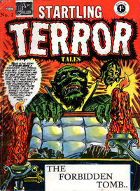Cover Thumbnail for Startling Terror Tales (Arnold Book Company, 1954 series) #1