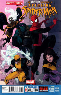 Cover Thumbnail for Avenging Spider-Man (Marvel, 2012 series) #16 [Second Printing]